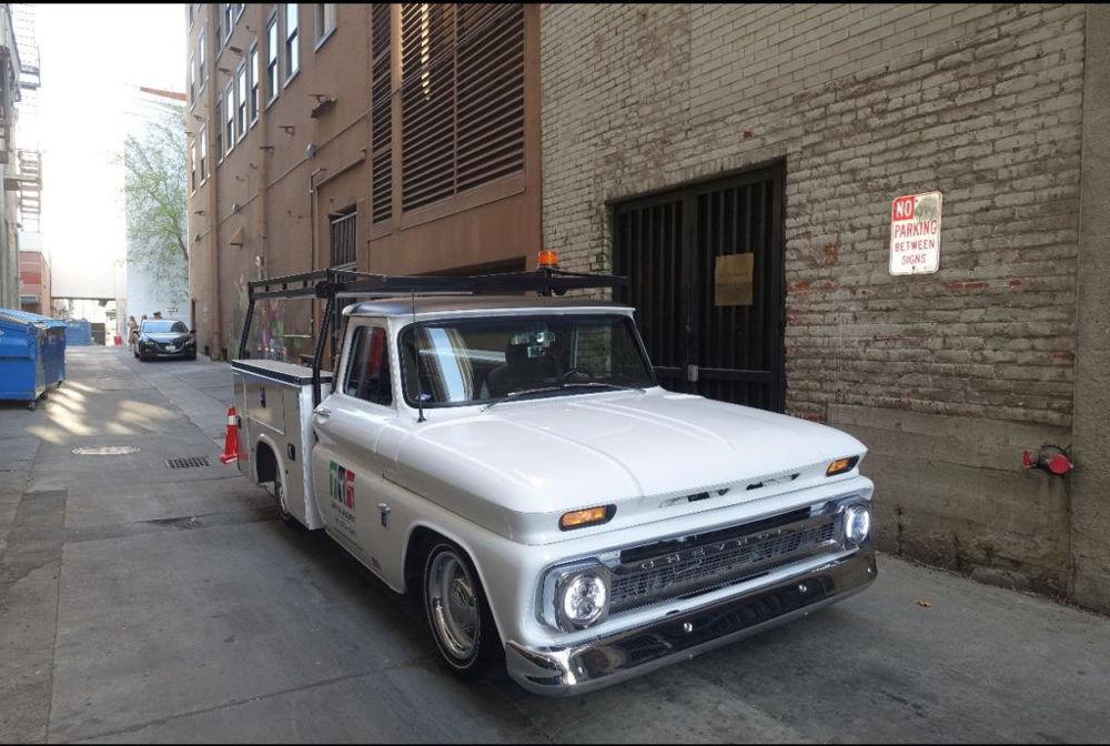Sean's Custom 1964 Chevy C10 Service Body