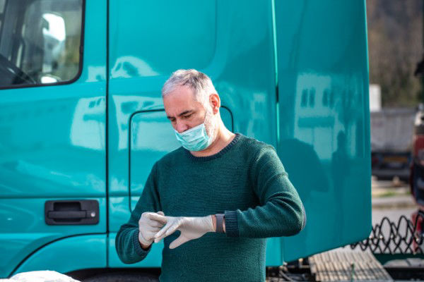 Truck Driver Safety during Covid-19 Pandemic