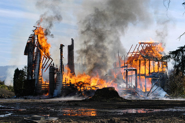 Building Fire Image Business Interruption Insurance