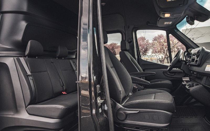 Cargo Van Crew Cab Conversion Interior Cabin Image
