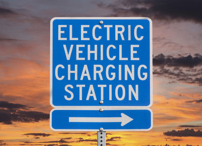 Electric Charging Station Sign