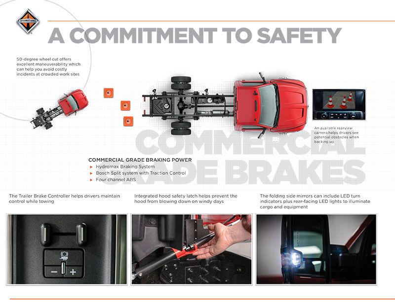 International Truck CV Series - Safety Features