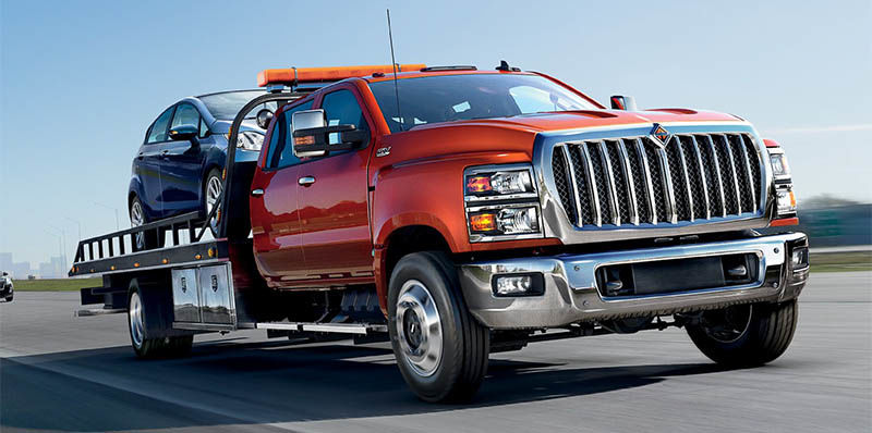 International Truck CV Series - Rollback Tow Truck