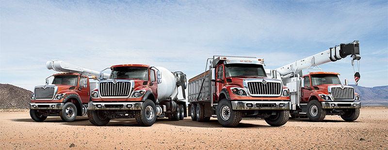International Truck HV Series - Truck Lineup
