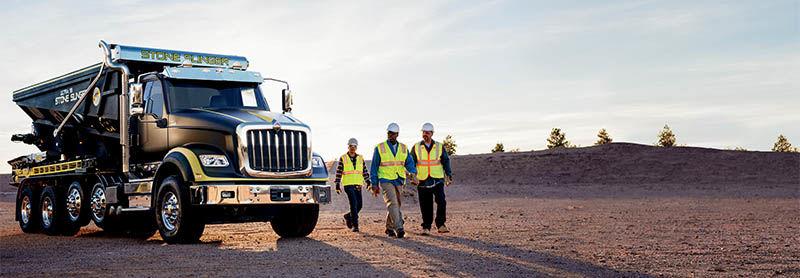 International Truck HX Series - Dump Truck