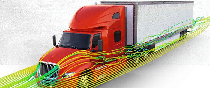 International Truck LT Series - Aerodynamic Design