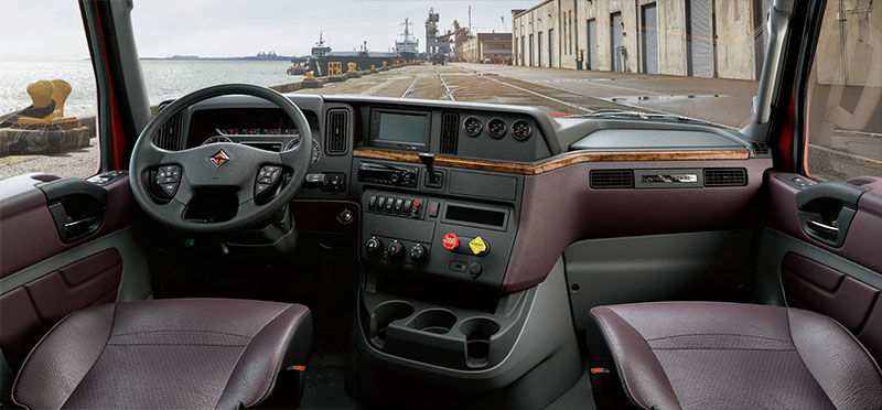 International Truck LT Series - Driver First Interior