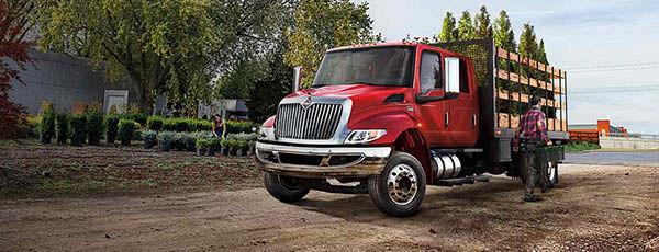International Truck MV Series - Landscapers Truck
