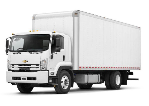 Low Cab Forward Box Truck