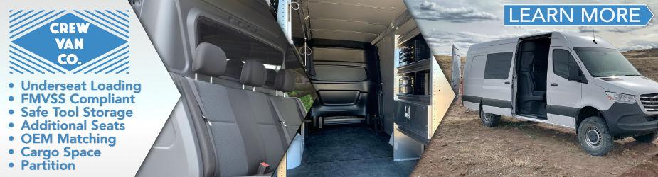 CrewVanCo Upfit Cargo Vans