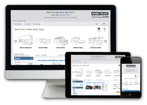 Work Truck Solutions Vocation Carousel Multiple Digital Devices